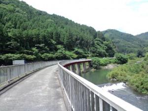 メイプル耶馬サイクリングロード鉄橋