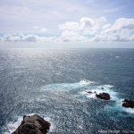台風一過の足摺岬