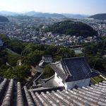 姫路城からの景色