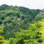 山寺風雅の国付近からの景色