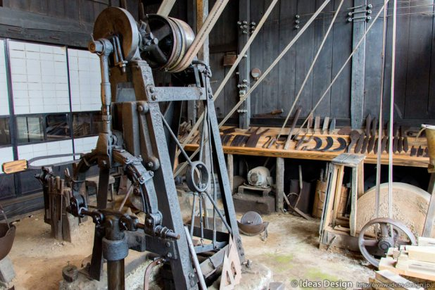 孫惣刃物鍛冶 作業場