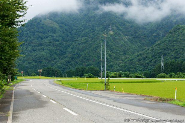 新潟県関川村女川